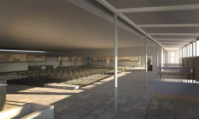 Merton Priory Chapter house interior as proposed