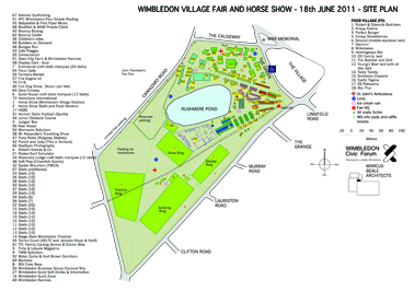 Wimbledon Village Fair, 2011