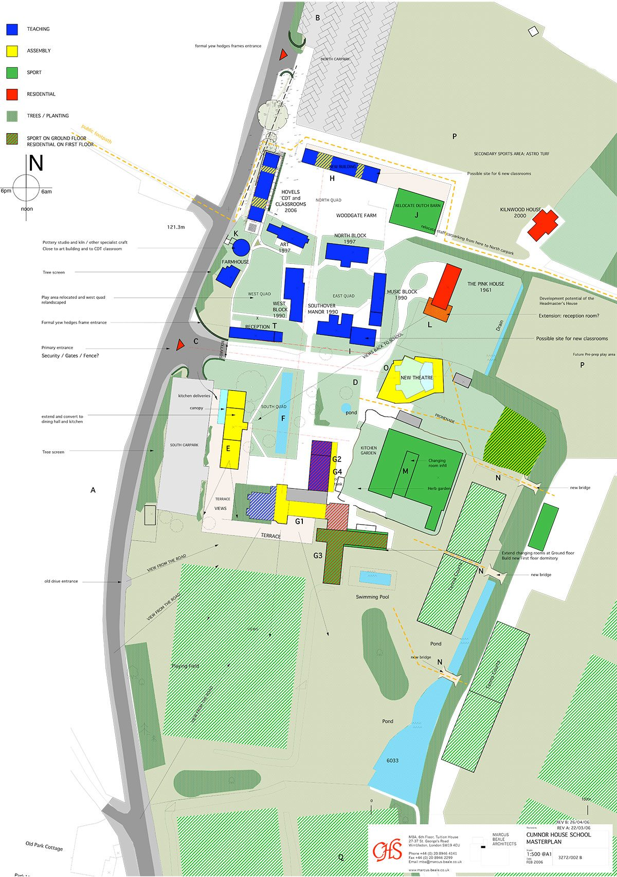 Cumnor House School - Masterplan