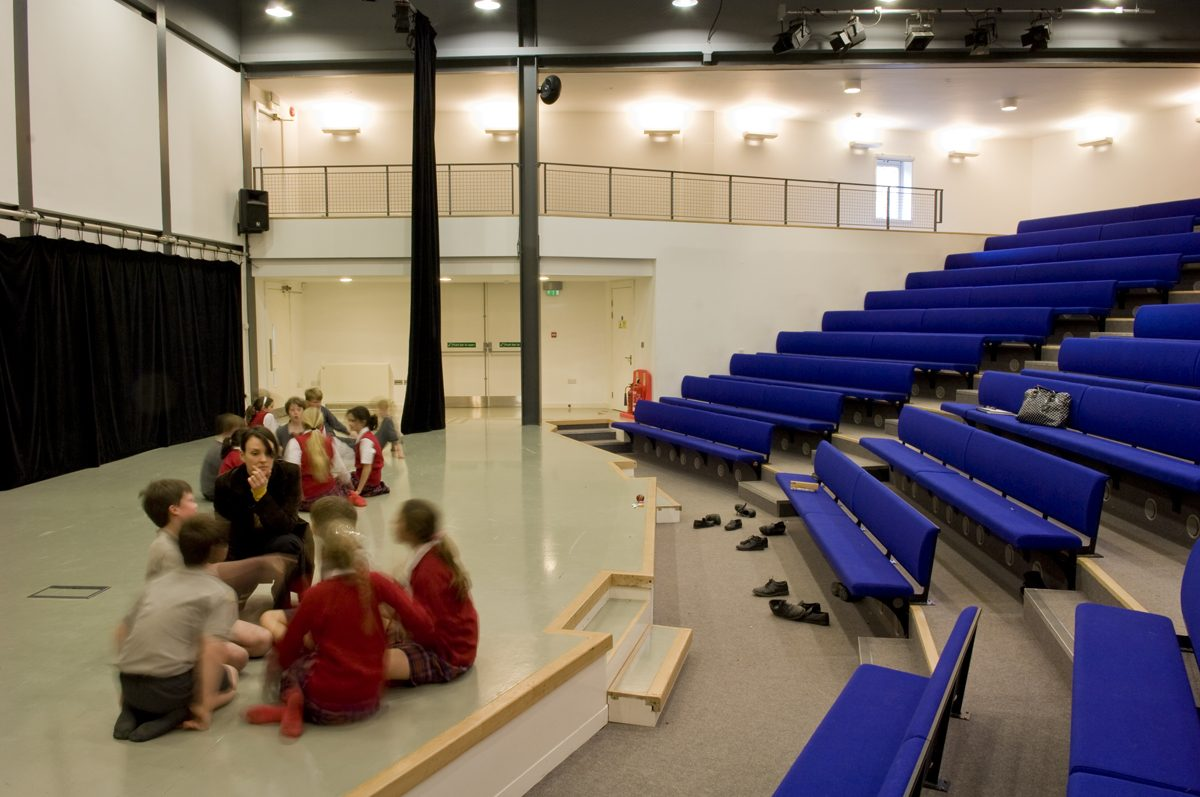 Cumnor House School - Theatre - Interior