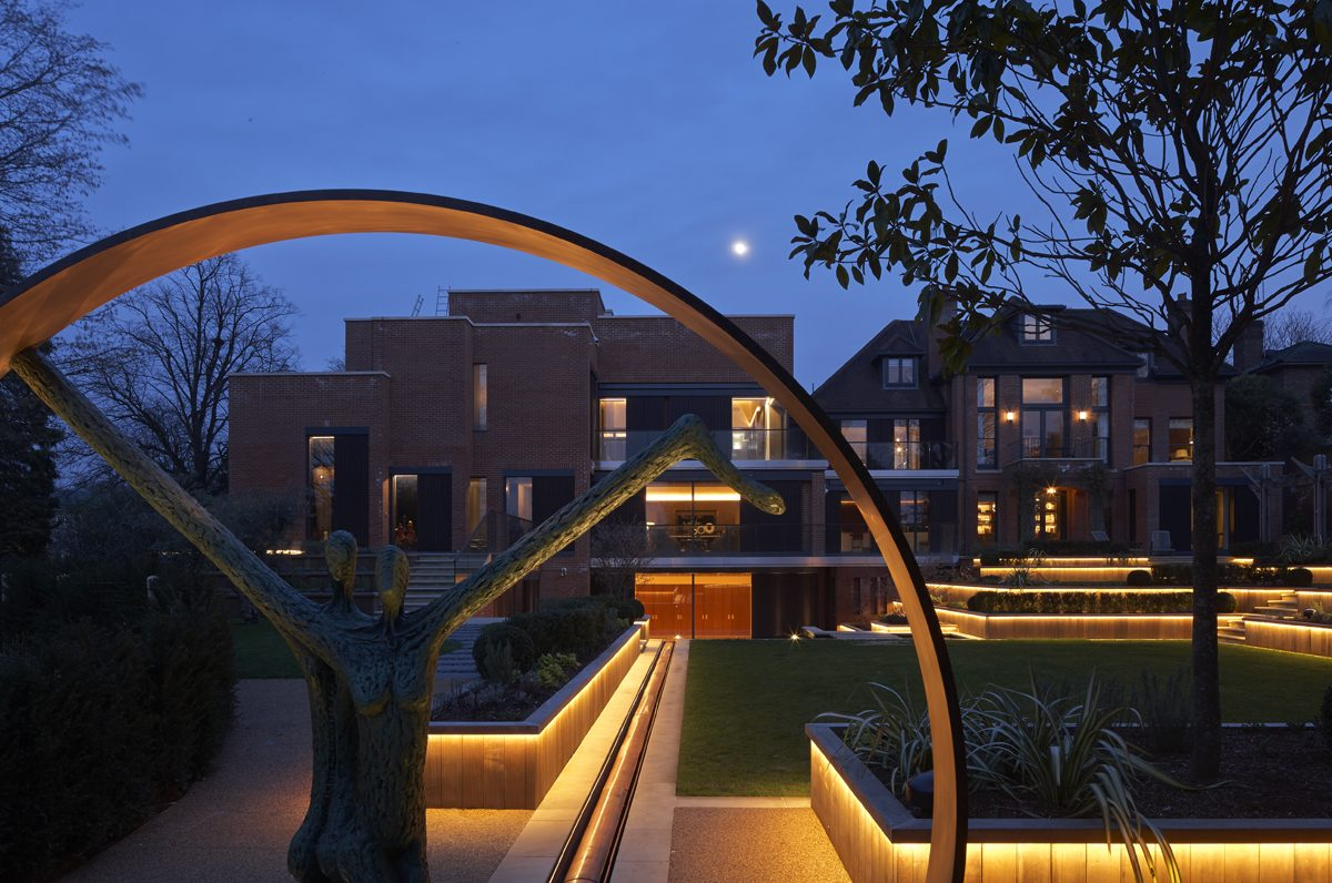 House, Wimbledon - Exterior - Night