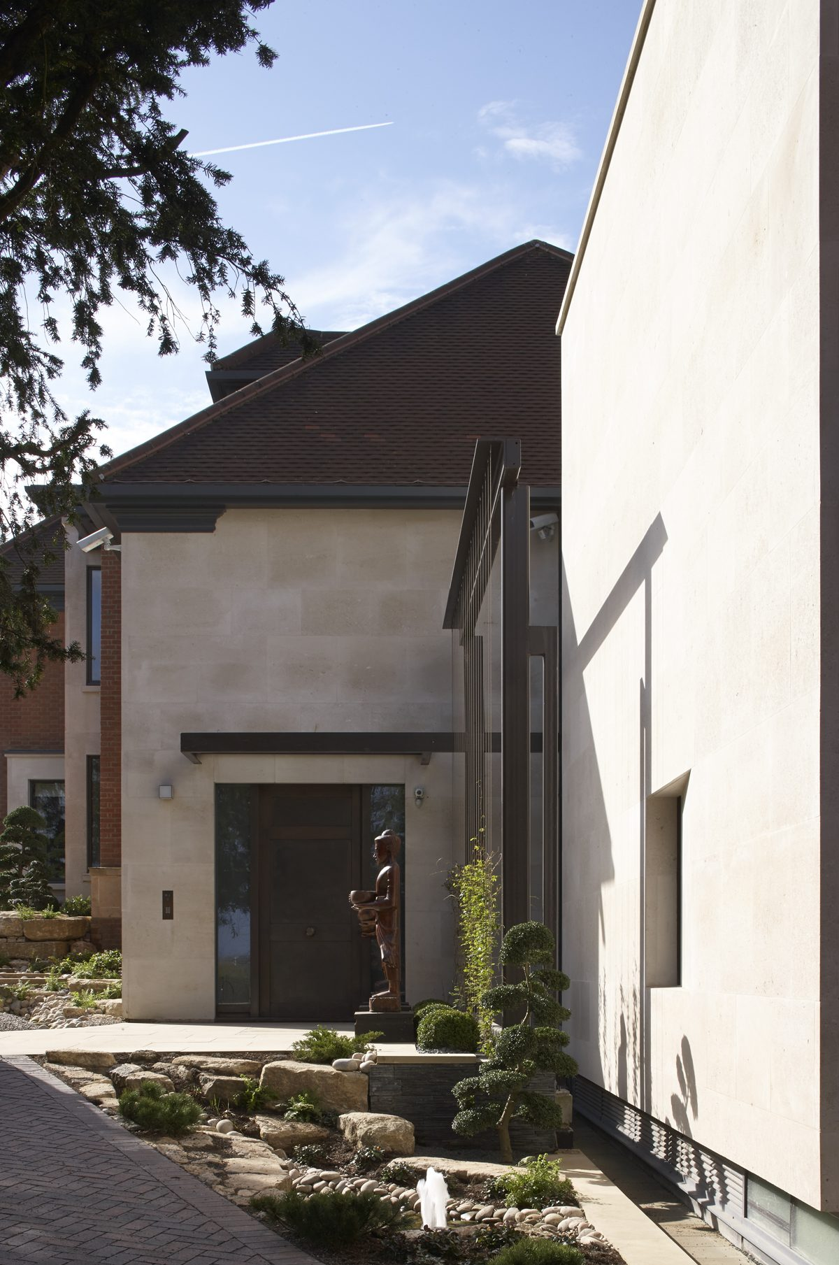 House, Wimbledon - Exterior Entrance