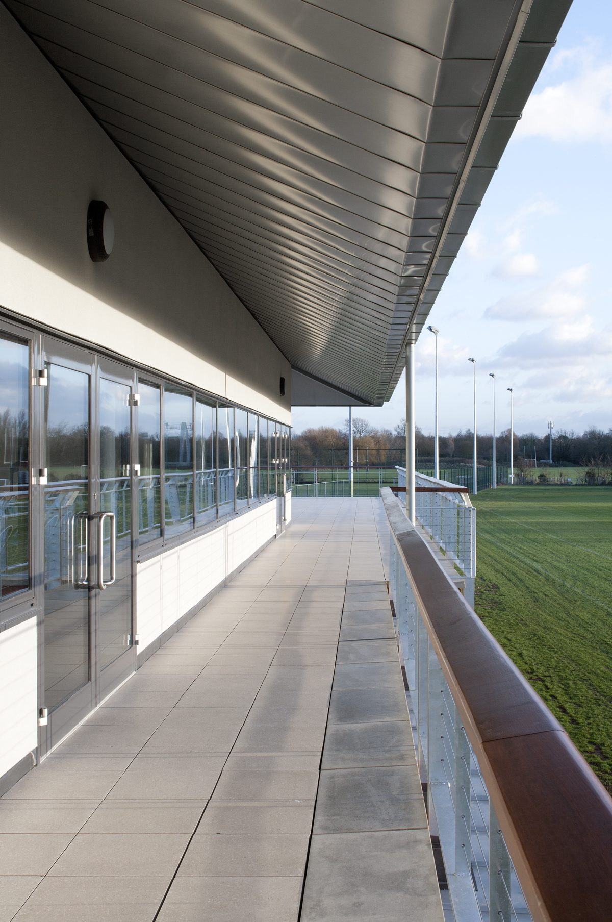 King's College, Wimbledon - Sports Pavillon - Balcony