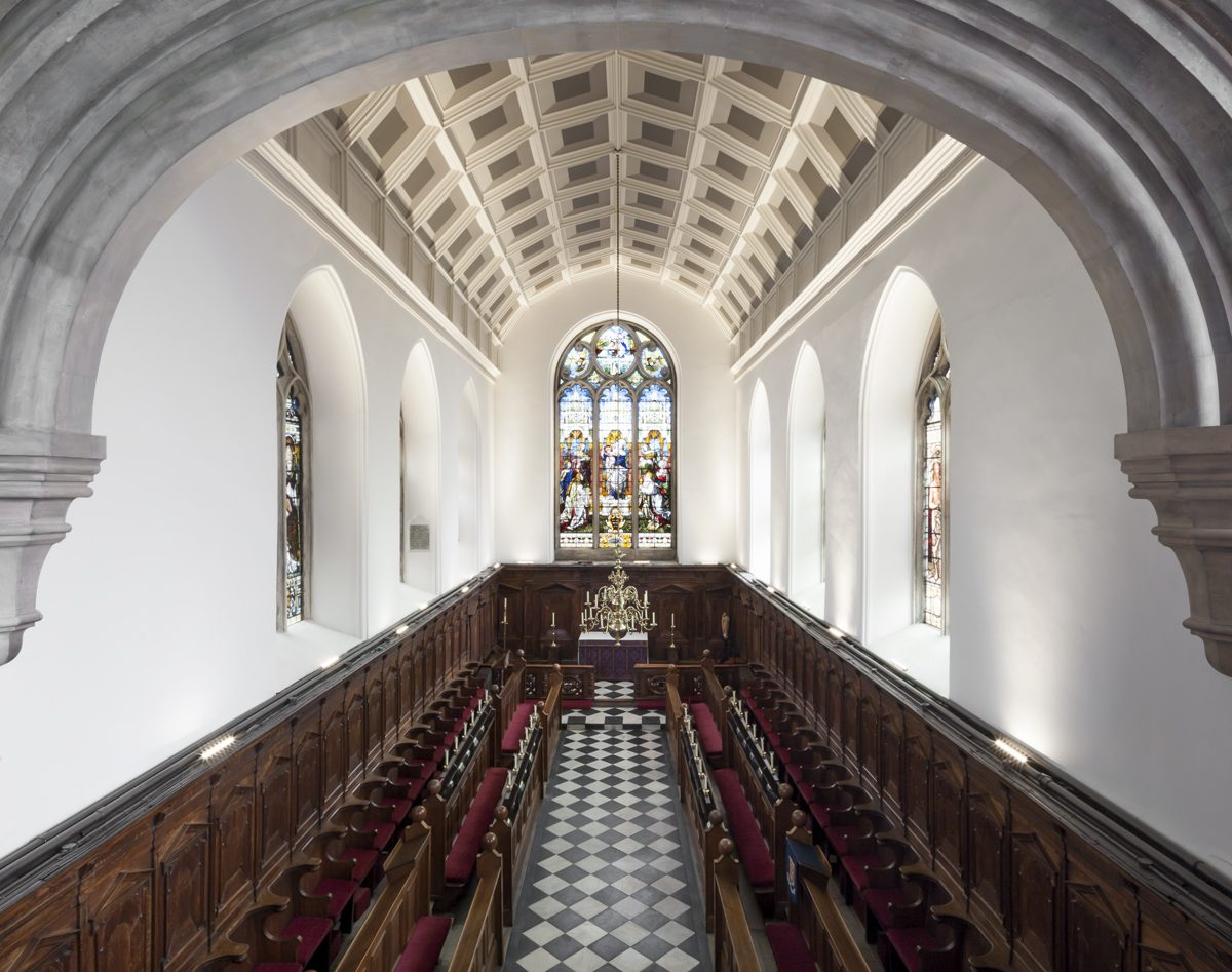 Oriel College - Chapel - Interior