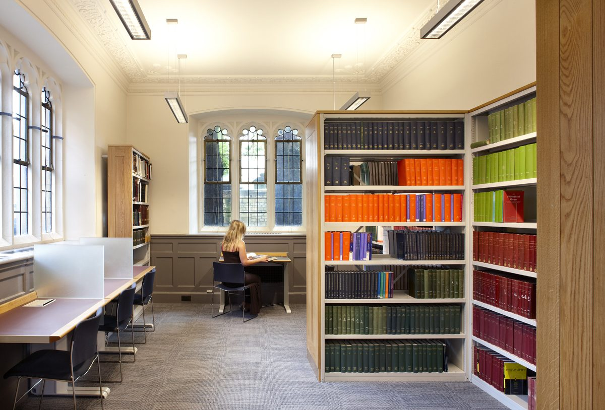 Pantin Library - Oriel College - Interior
