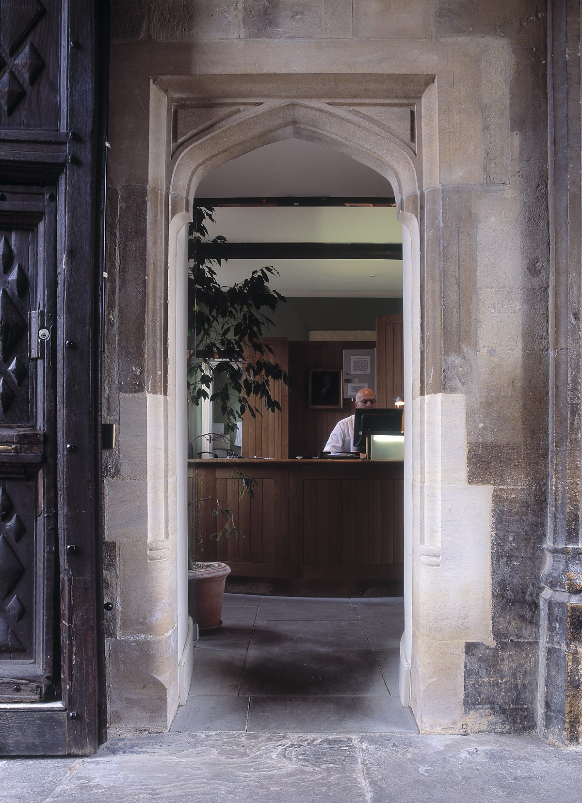 Oriel College - Porter's Lodge - Entrance