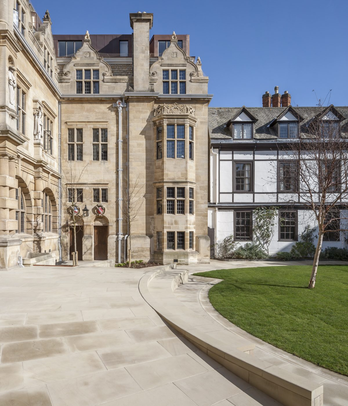 Rhodes Building, Oriel College,, Oxford - Exterior - Courtyard