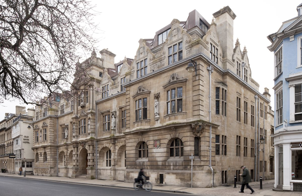 Rhodes Building, Oriel College,, Oxford - Exterior - Street view