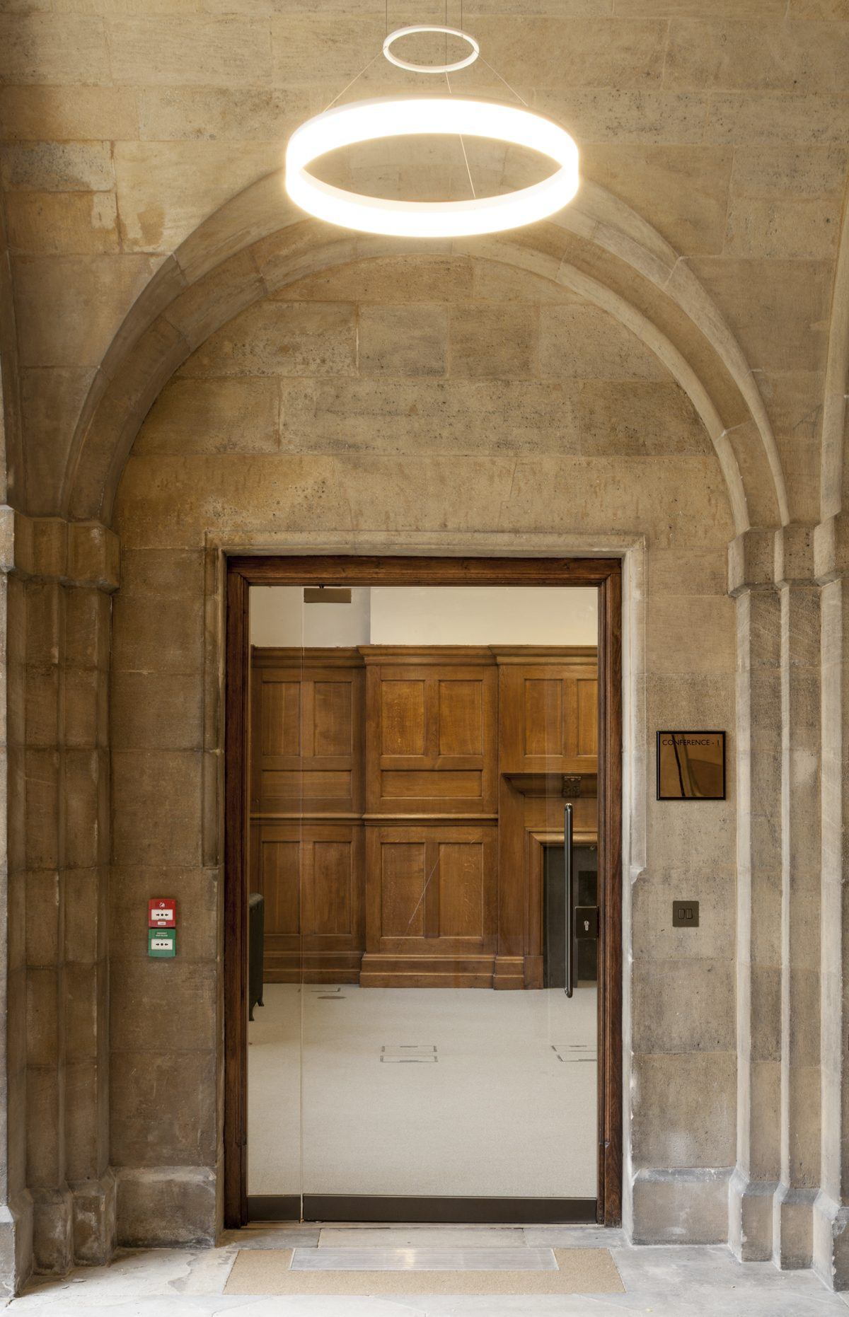 Rhodes Building, Oriel College,, Oxford - Exterior - Entrance