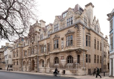 Rhodes Building, Oriel College,, Oxford - Exterior