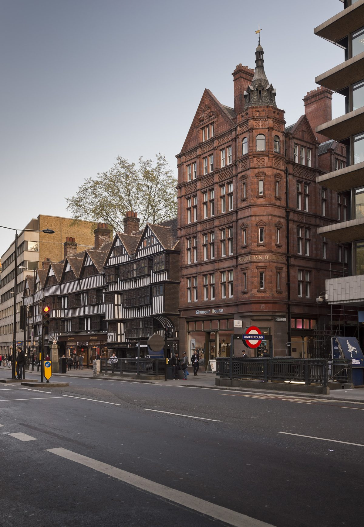 Staple Inn - Holborn, London - Exterior