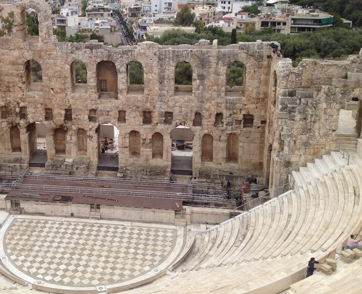 Theatre of Dionysus at Athens 2017