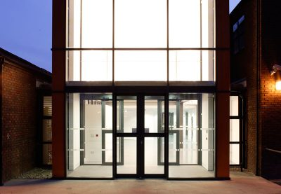 Wimbledon College of Art - Foyer - Exterior