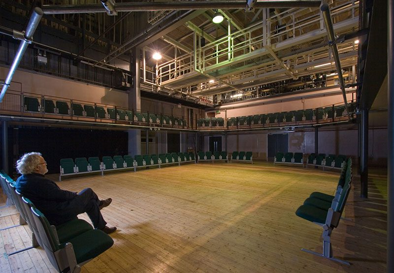 Wimbledon College of Arts - Theatre - Interior