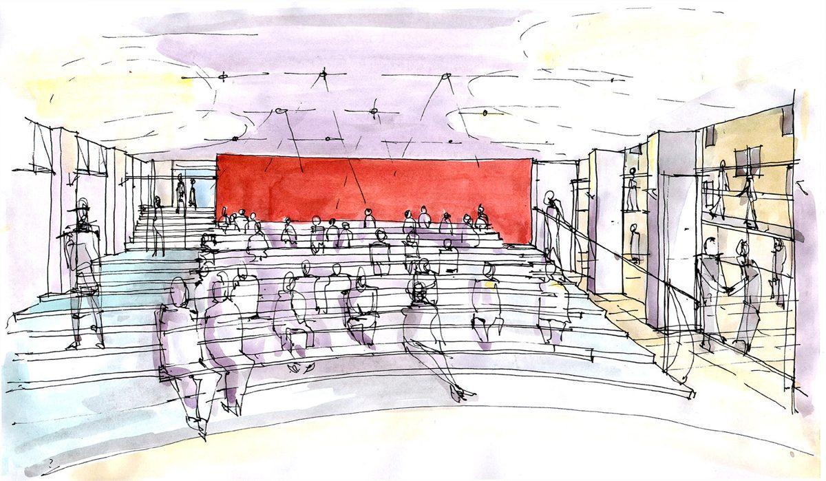 Nuffield College, Oxford - Lecture Theatre