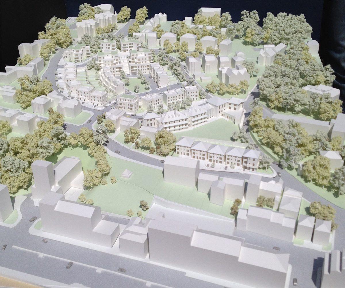 Archery Road Housing - Hastings - Model