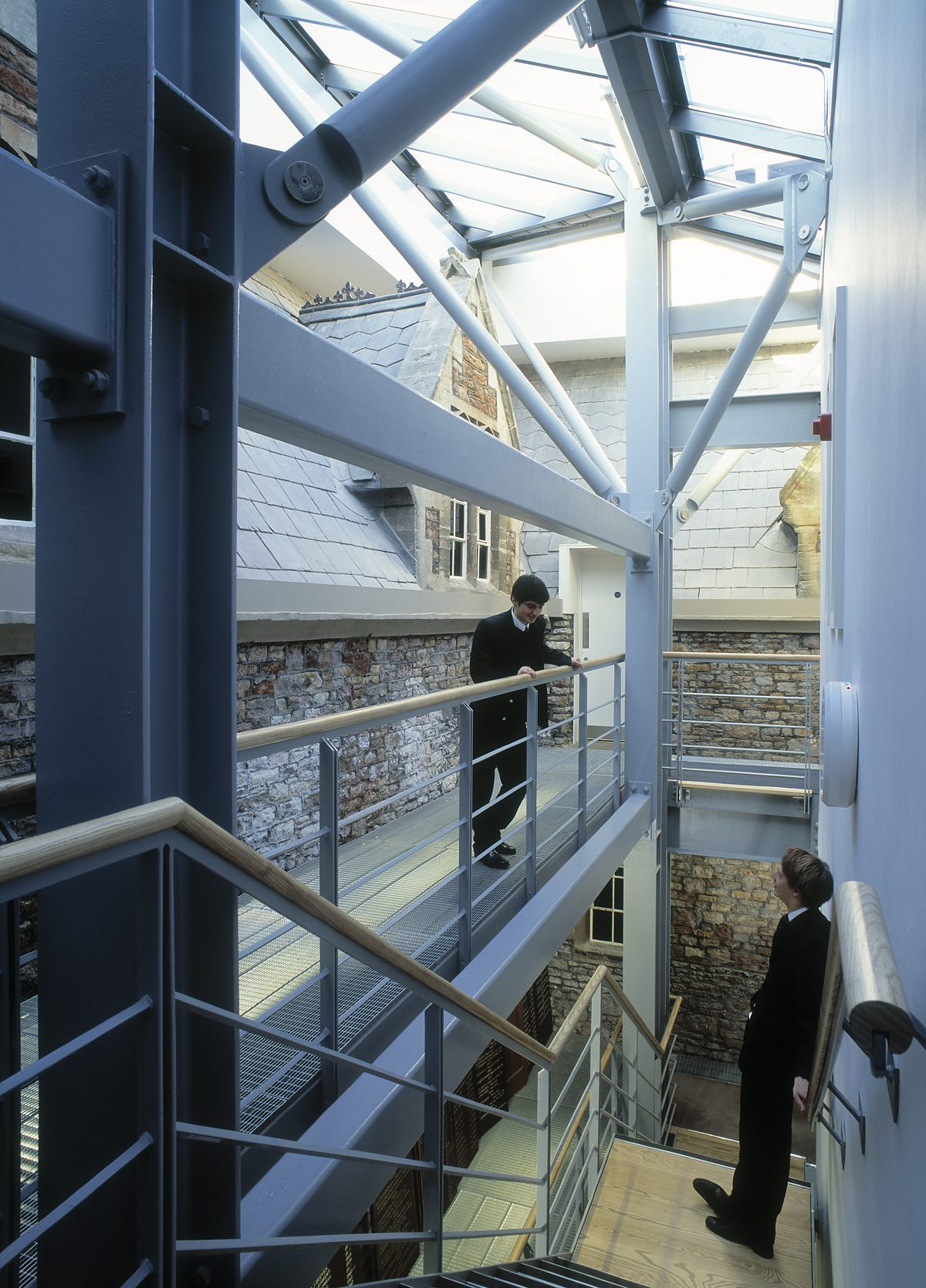 Clifton College - School House - Halls of Residence - Interior