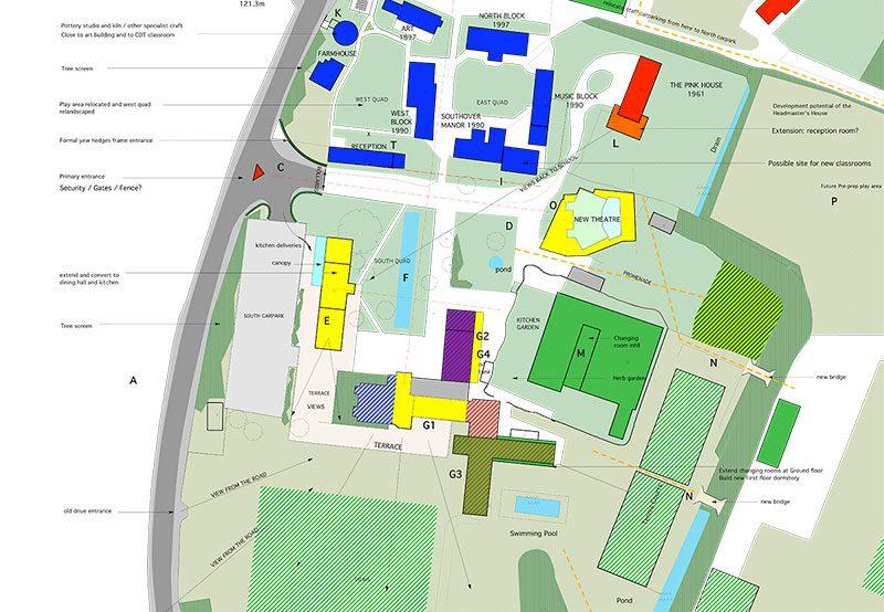 Cumnor House School - Masterplan