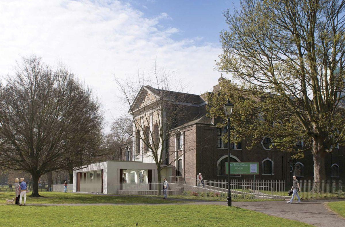 Holy Trinity Clapham - Exterior