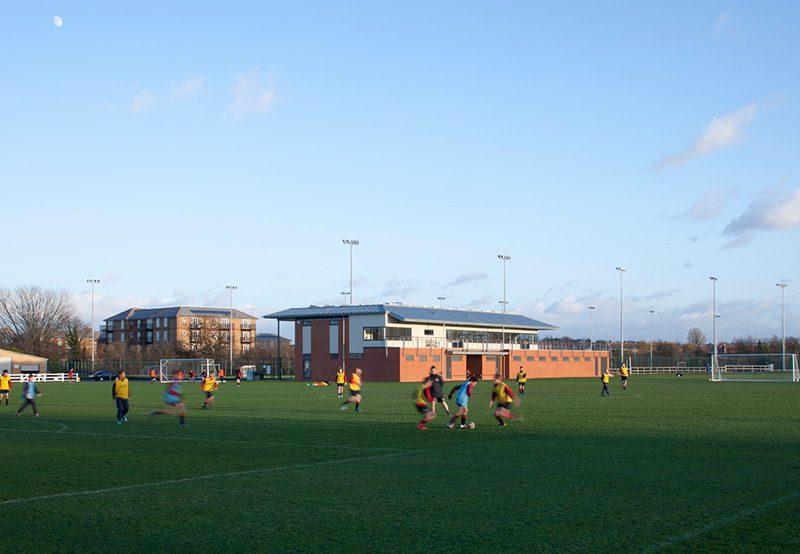 King's College, Wimbledon - Sports Pavillon