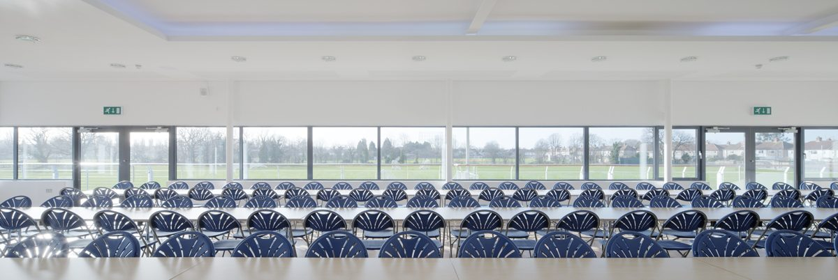 King's College, Wimbledon - Sports Pavillon - Interior