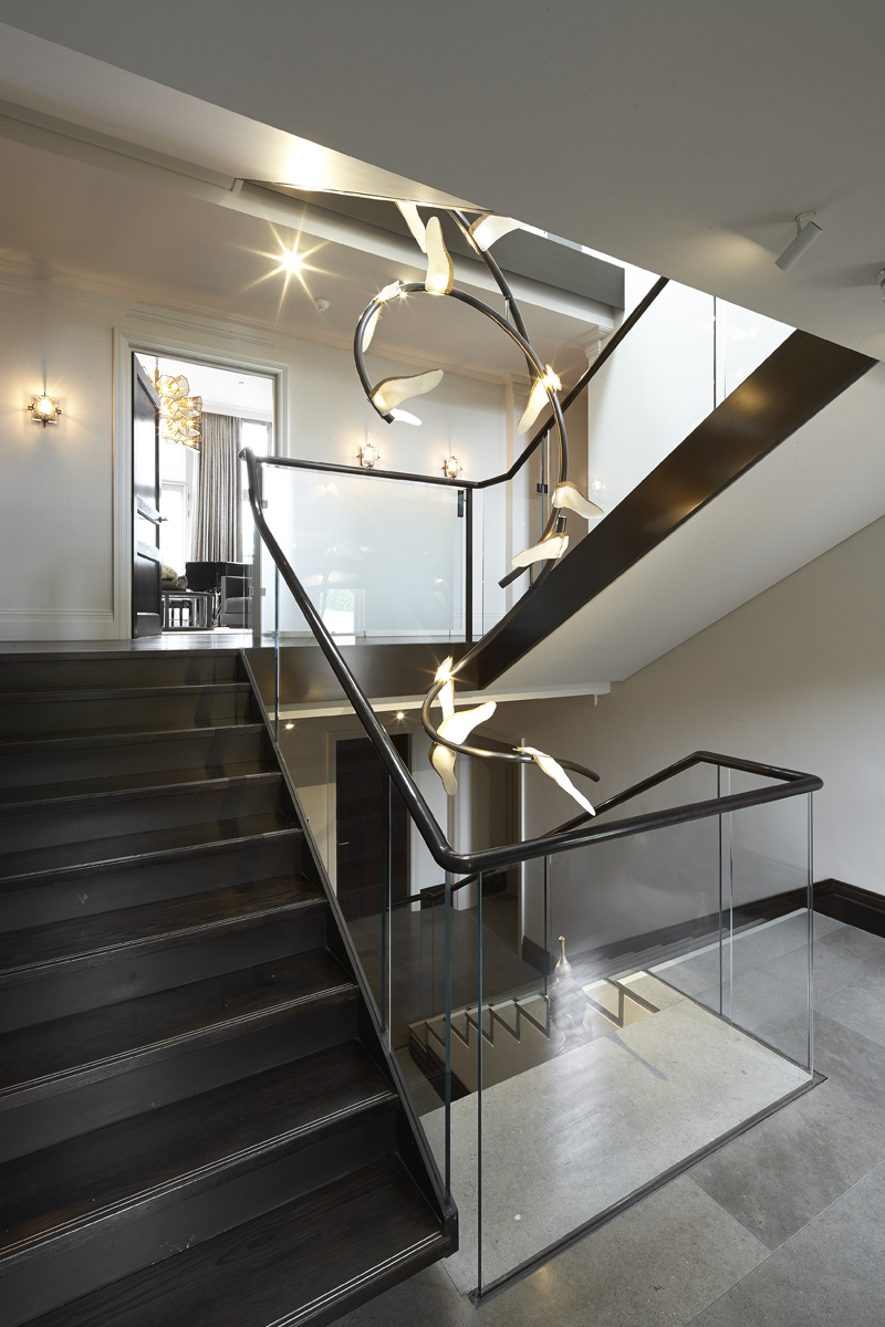 Stairs and lighting