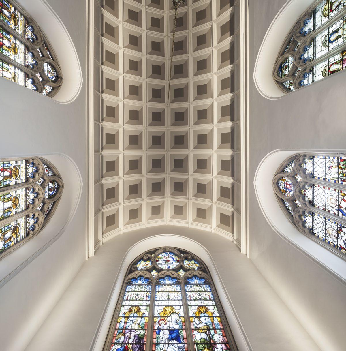 Oriel College - Chapel - Ceiling