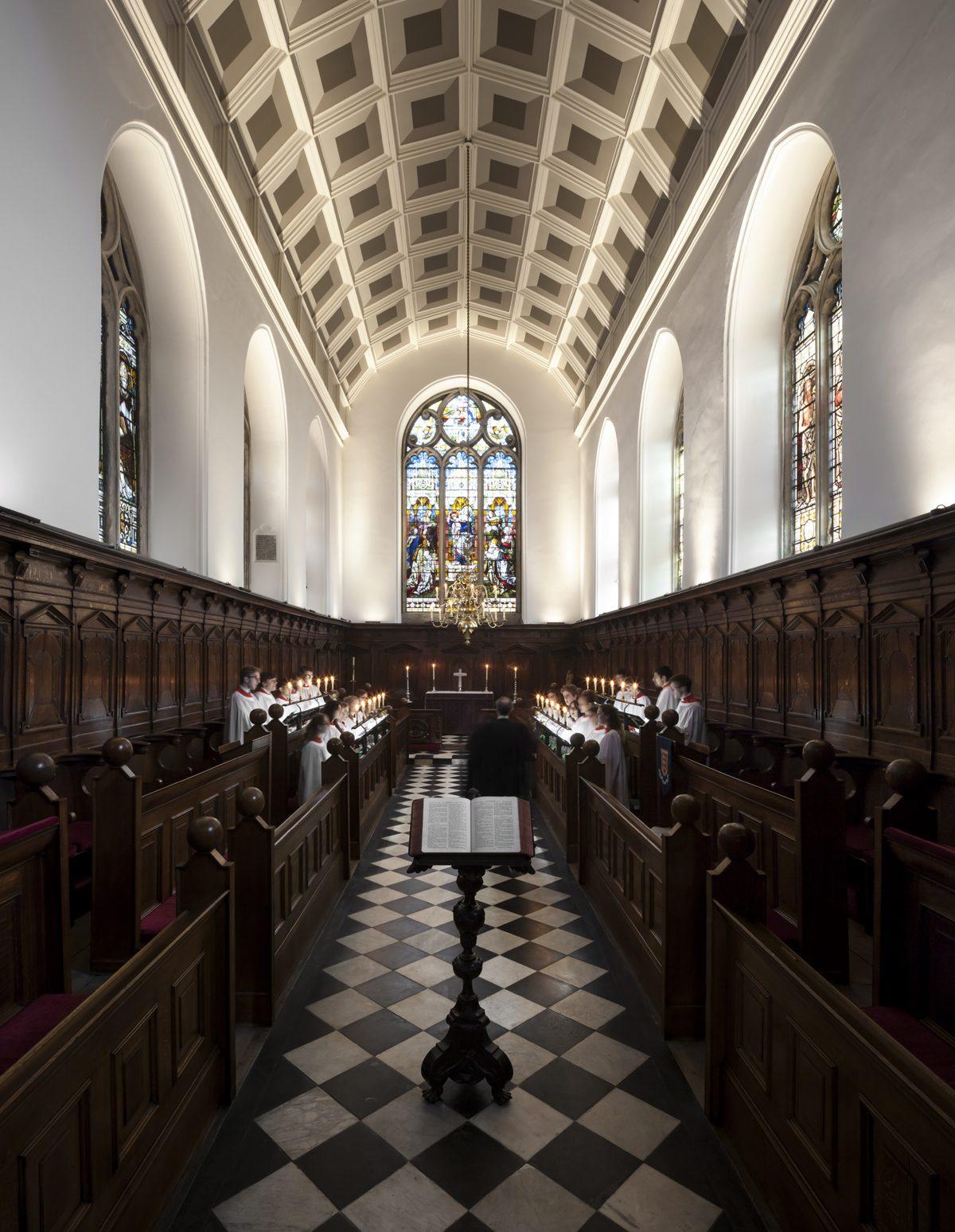 Oriel College - Chapel - Interior