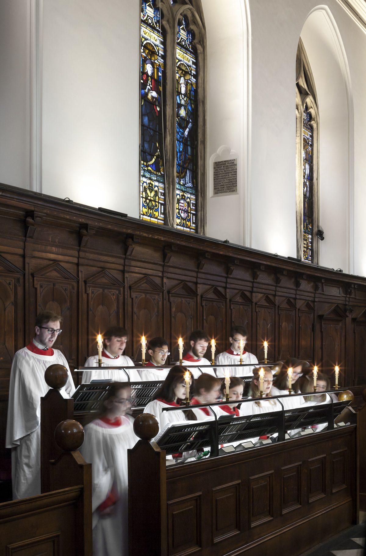 Oriel College - Chapel - Choir