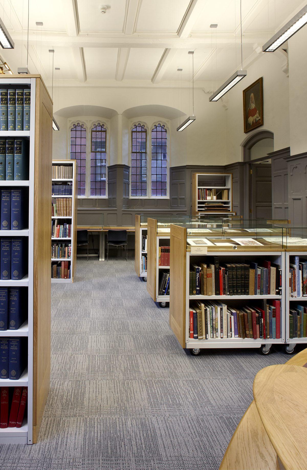 Pantin Library - Oriel College - Interior