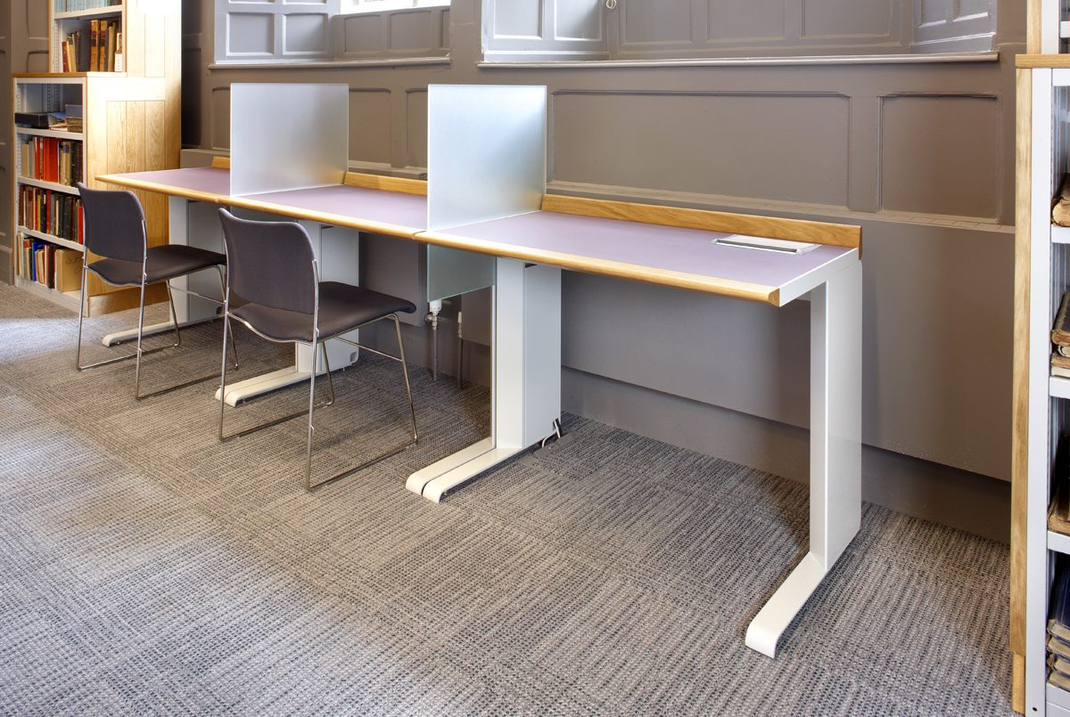 Pantin Library - Oriel College - Workstation