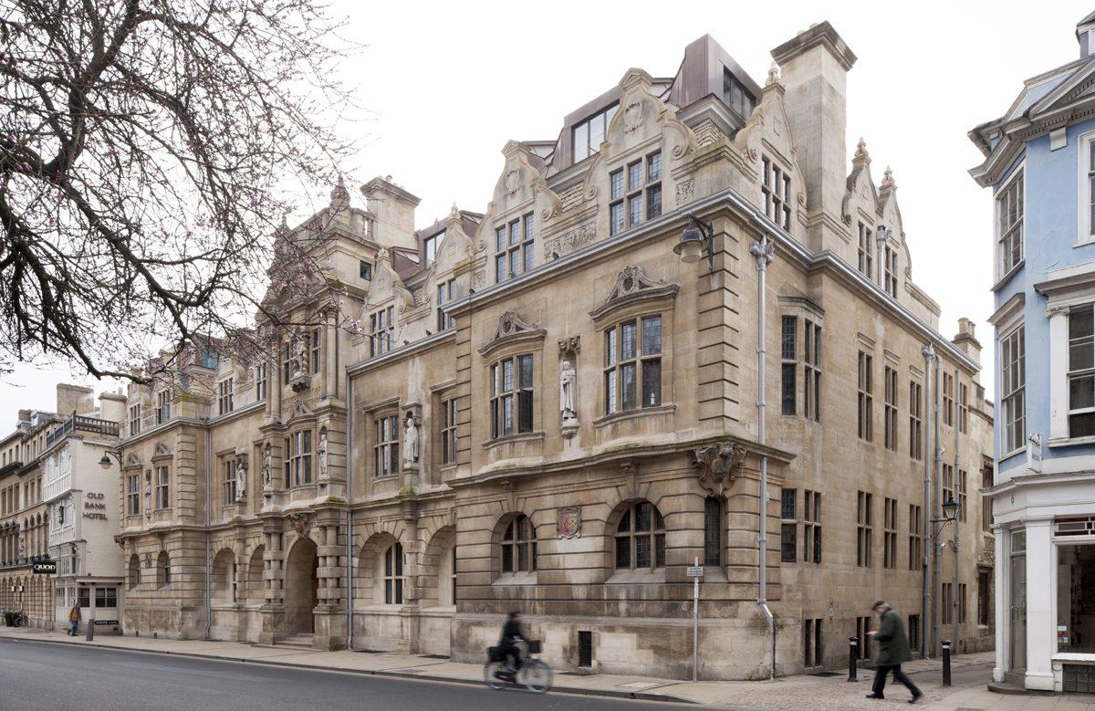 Rhodes Building, Oriel College,, Oxford - Exterior - Street view