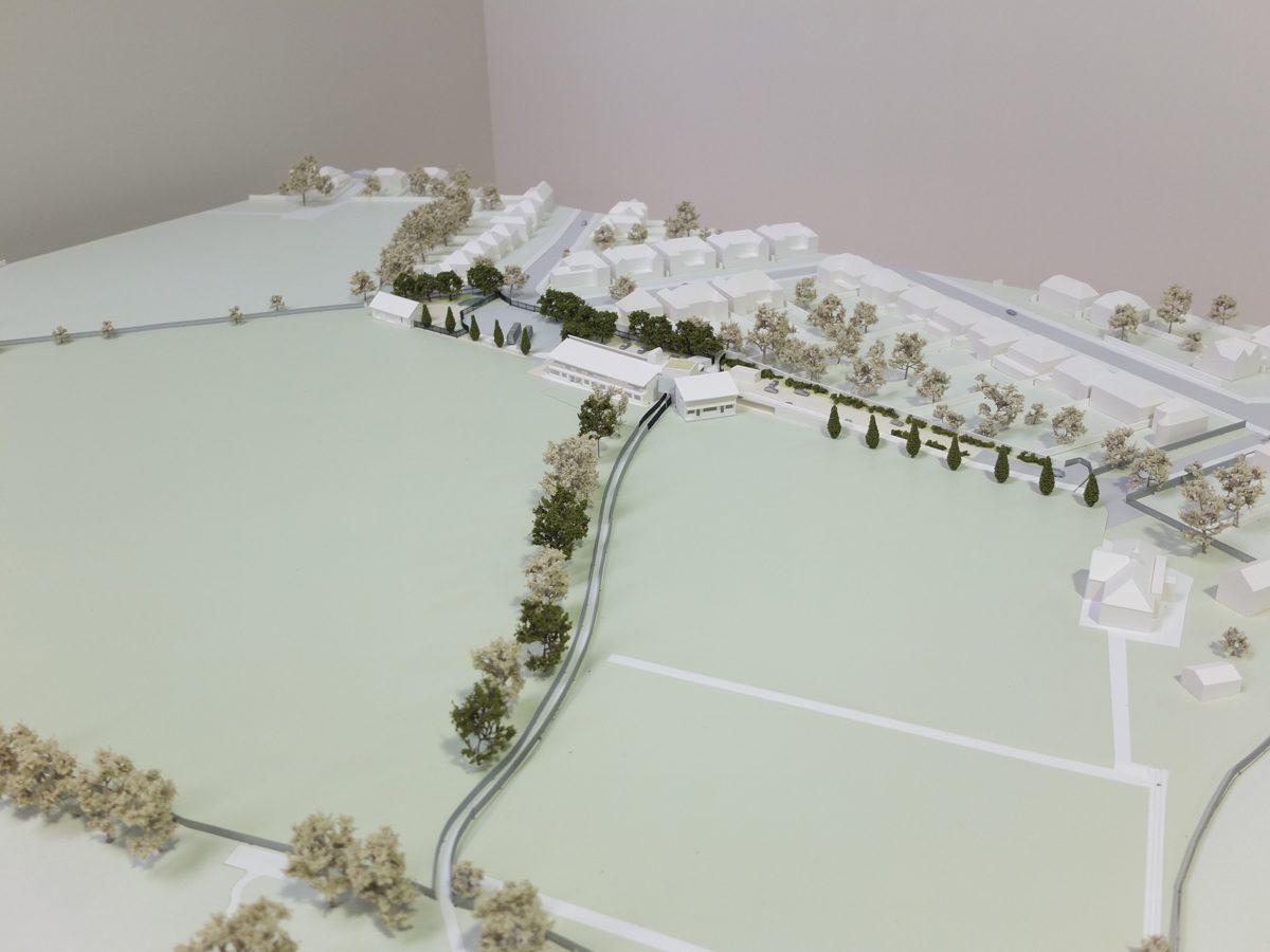 University College School London - Sports Pavilion - Model