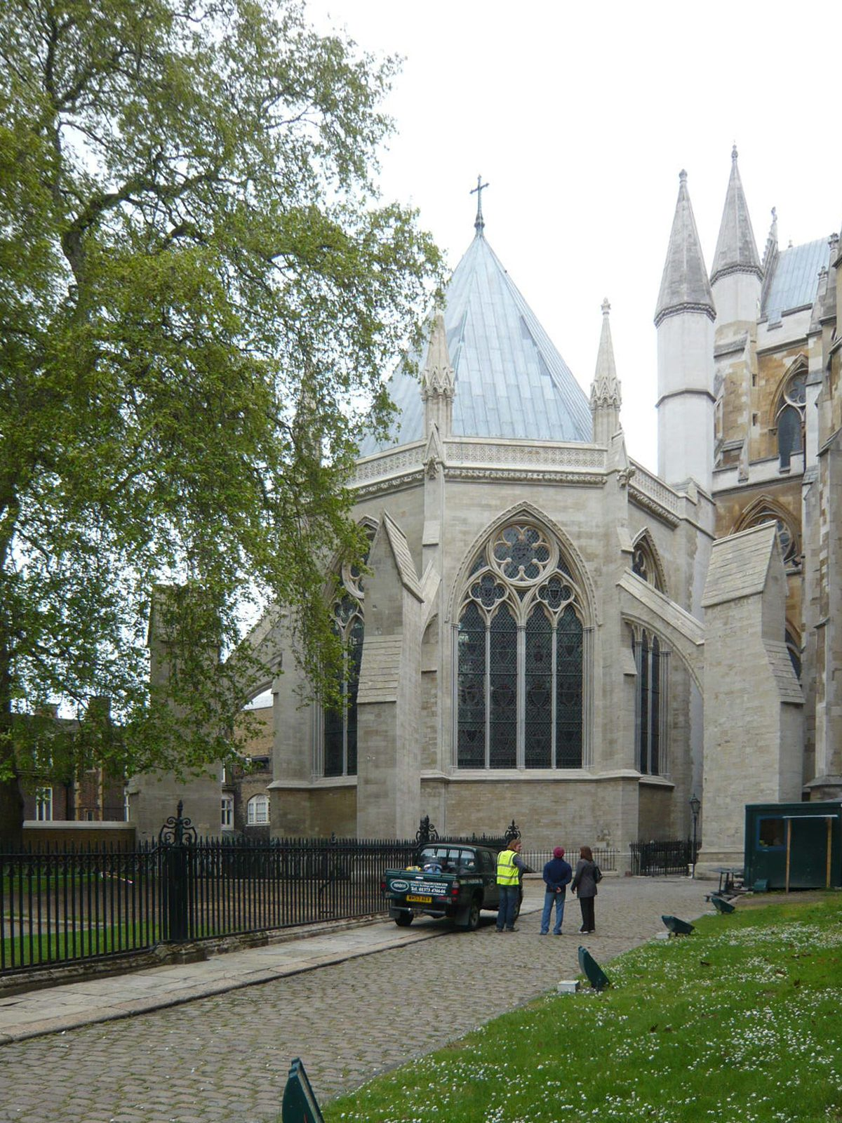Westminster Abbey - Chapter House - Exterior