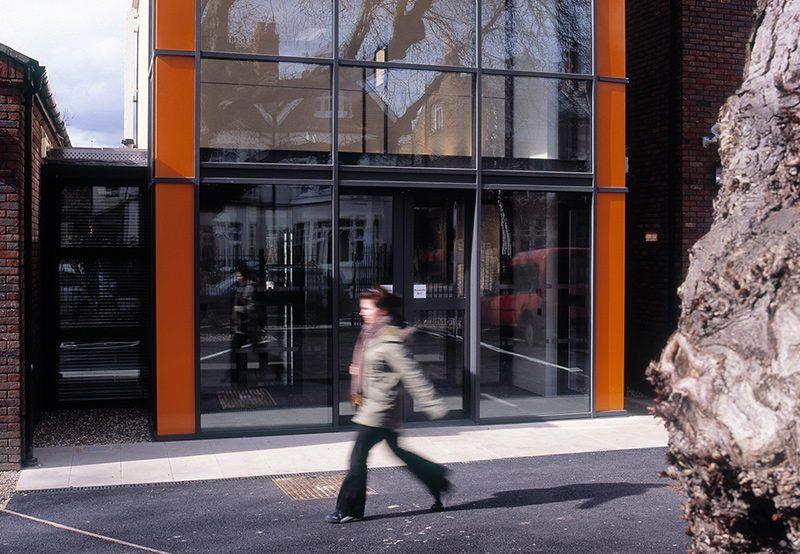 Wimbledon College of Art - Foyer - Exterior